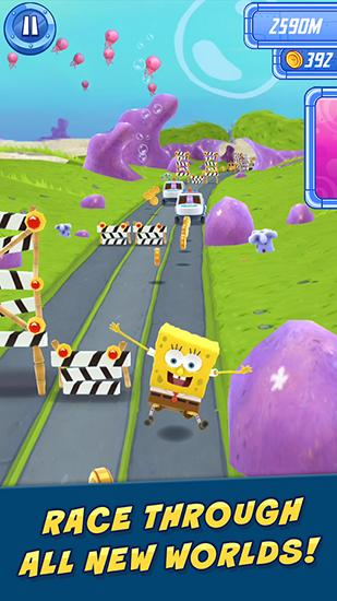 Скачати The Spongebob movie game: Sponge on the run на Андроїд безкоштовно.