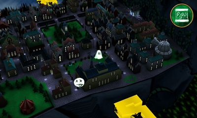 Screenshots of the The Spookening for Android tablet, phone.
