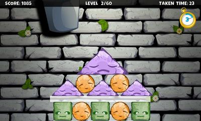 Screenshots of the The Stone Stacker for Android tablet, phone.