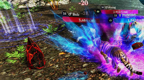 Screenshots do The tiger: Online simulator - Perigoso para tablet e celular Android.