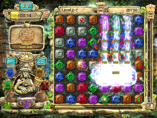 Screenshots von The treasures of Montezuma 4 für Android-Tablet, Smartphone.