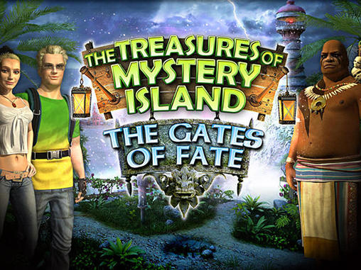 The treasures of mystery island 2: The gates of fate обложка