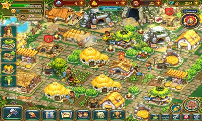 Screenshots do The Tribez - Perigoso para tablet e celular Android.