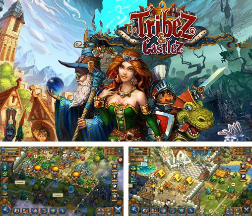 In addition to the game Build a kingdom for Android phones and tablets, you can also download The tribez and castlez for free.