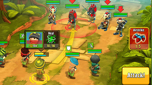 Screenshots von The troopers für Android-Tablet, Smartphone.