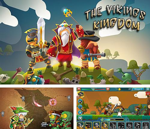 In addition to the game Doom warriors: Tap crawler for Android phones and tablets, you can also download The vikings kingdom for free.