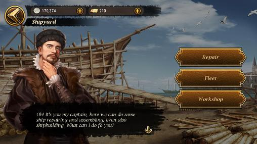Screenshots von The voyage: Initiation für Android-Tablet, Smartphone.