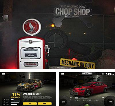 In addition to the game Find something for Android phones and tablets, you can also download The Walking Dead Chop Shop for free.