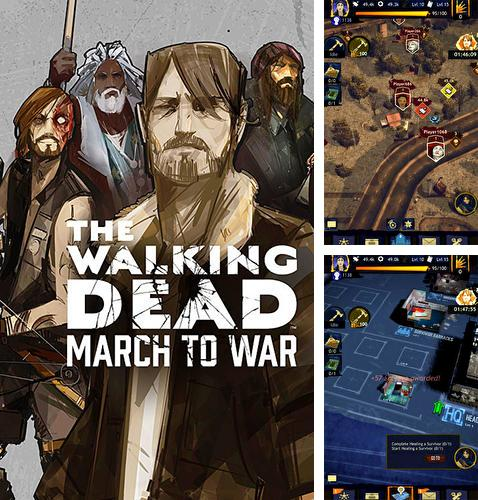 Кроме игры Royale clans: Clash of wars скачайте бесплатно The walking dead: March to war для Android телефона или планшета.