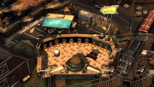 Kostenloses Android-Game The Walking Dead: Pinball. Vollversion der Android-apk-App Hirschjäger: Die The walking dead: Pinball für Tablets und Telefone.