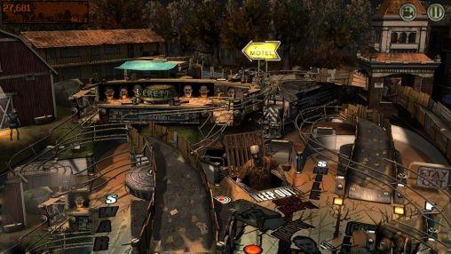 Screenshots von The walking dead: Pinball für Android-Tablet, Smartphone.