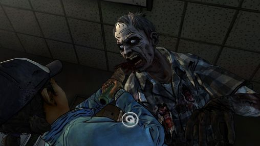 Écrans de The walking dead: Season 2 Episode 3. In harm's way pour tablette et téléphone Android.
