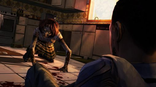 Kostenloses Android-Game The Walking Dead: Stafel 1. Vollversion der Android-apk-App Hirschjäger: Die The walking dead: Season one für Tablets und Telefone.