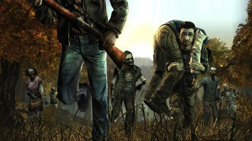 Screenshots von The walking dead: Season one für Android-Tablet, Smartphone.