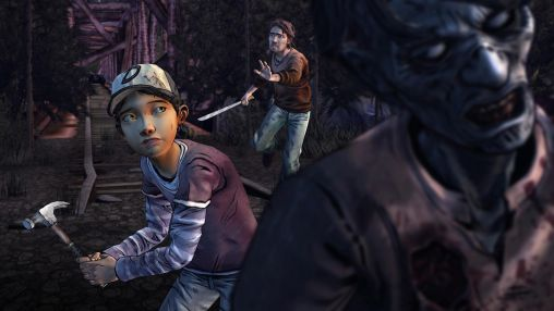 Capturas de pantalla de The walking dead: Season two para tabletas y teléfonos Android.