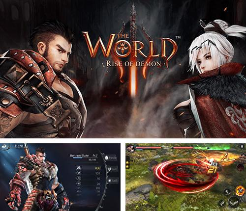 En plus du jeu Lames et bagues pour téléphones et tablettes Android, vous pouvez aussi télécharger gratuitement Le monde 3: Insurrection du démon, The world 3: Rise of demon.