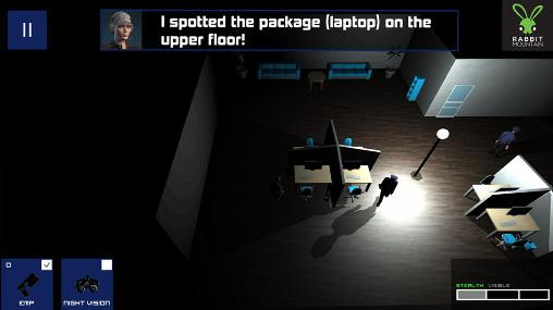 Screenshots von Theft inc. Stealth thief game für Android-Tablet, Smartphone.