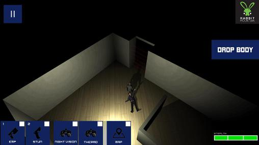 Screenshots do Theft inc. Stealth thief game - Perigoso para tablet e celular Android.