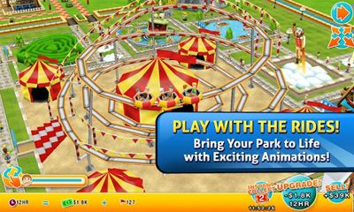 Screenshots of the Theme Park for Android tablet, phone.