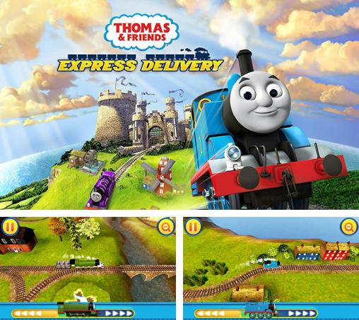 In addition to the game Cars: Fast as Lightning for Android phones and tablets, you can also download Thomas and friends: Express delivery for free.