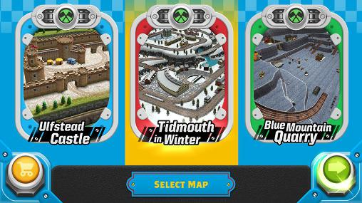 Screenshots von Thomas and friends: Race on! für Android-Tablet, Smartphone.