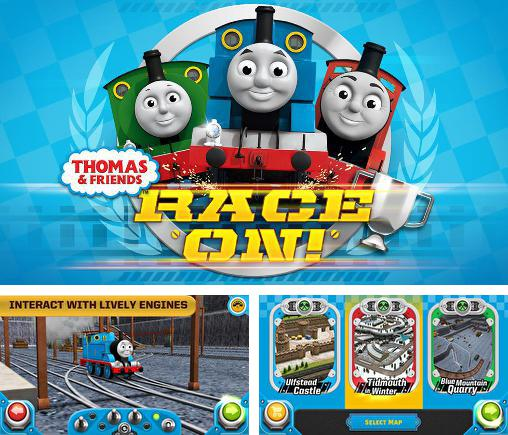 In addition to the game Cars: Fast as Lightning for Android phones and tablets, you can also download Thomas and friends: Race on! for free.