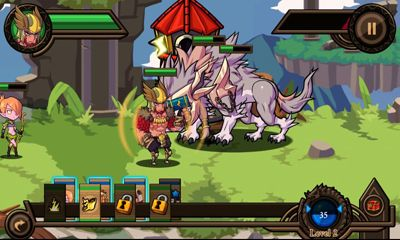 Screenshots von Thor Lord of Storms für Android-Tablet, Smartphone.