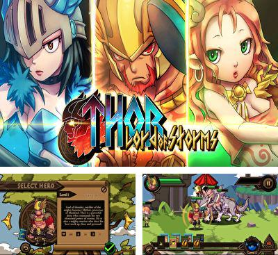 In addition to the game Draw Slasher for Android phones and tablets, you can also download Thor Lord of Storms for free.