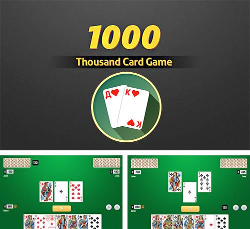 Thousand card game