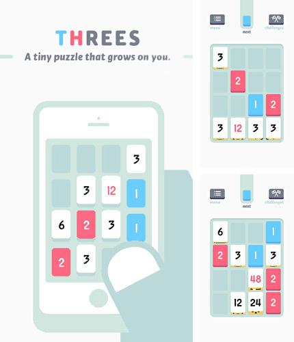In addition to the game Hundreds for Android phones and tablets, you can also download Threes! for free.
