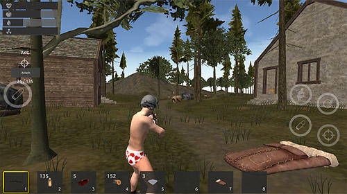 Screenshots von ThriveX survival: Battlegrounds royale für Android-Tablet, Smartphone.