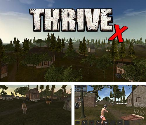 ThriveX survival: Battlegrounds royale