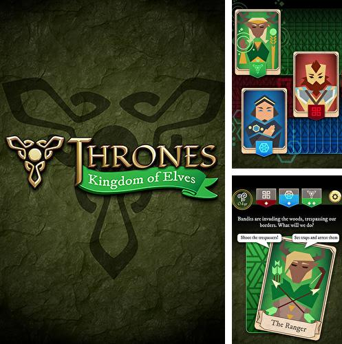 Thrones: Kingdom of elves. Medieval game