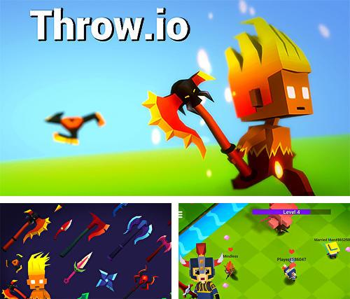 Throw io: Online axes, knives and shurikens battles