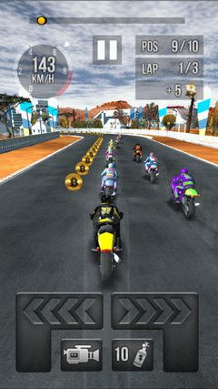Thumb motorbike racing screenshot 2