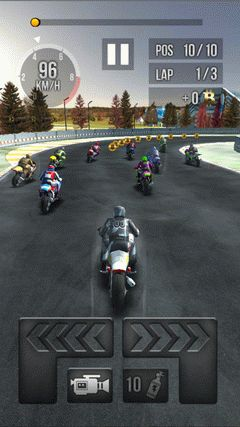 Thumb motorbike racing screenshot 3