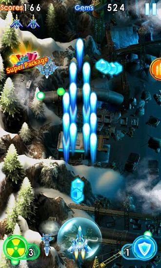 Thunder fighter: Storm raiden screenshot 2