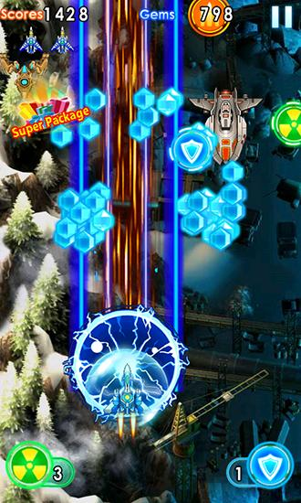Thunder fighter: Storm raiden screenshot 5