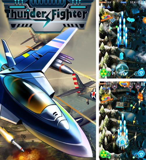 In addition to the game Sky fighter: War machine for Android phones and tablets, you can also download Thunder fighter: Storm raiden for free.