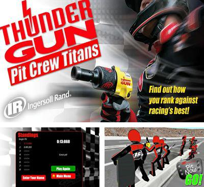 In addition to the game SpiderWay for Android phones and tablets, you can also download Thunder Gun Pit Crew Titans for free.