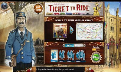 Download Ticket to Ride Android free game.
