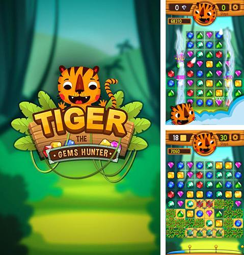 Tiger: The gems hunter match 3