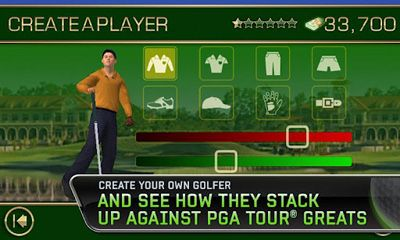 Screenshots von Tiger Woods PGA Tour 12 für Android-Tablet, Smartphone.