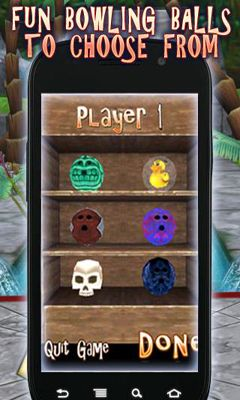 Screenshots of the Tiki10Pin for Android tablet, phone.