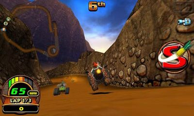Screenshots von Tiki Kart 3D für Android-Tablet, Smartphone.