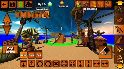Tiki kart island screenshot 2