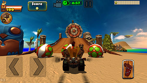 Tiki kart island screenshot 3