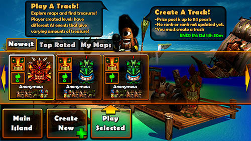 Tiki kart island screenshot 4
