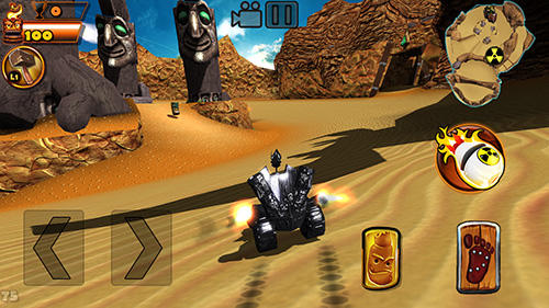 Tiki kart island screenshot 5