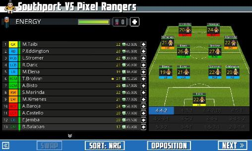 Tiny striker: World football screenshot 5